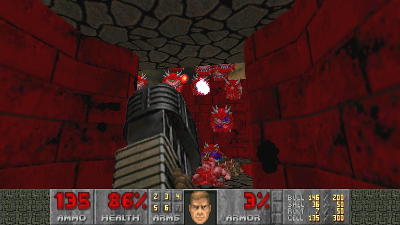 Doom Ii No Rest For The Living Ultra Violence5 じゃじゃ馬の