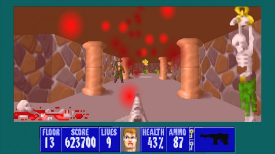 gzdoom 2014 07 18 20 29 35 50 R 544x306 Wolfenstein 3D: Spear of Destiny   余はミュータントが嫌いじゃ